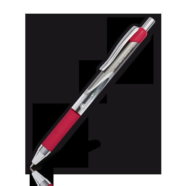ปากกาQuantumเจลโล่พลัส ทัช 500 แดง