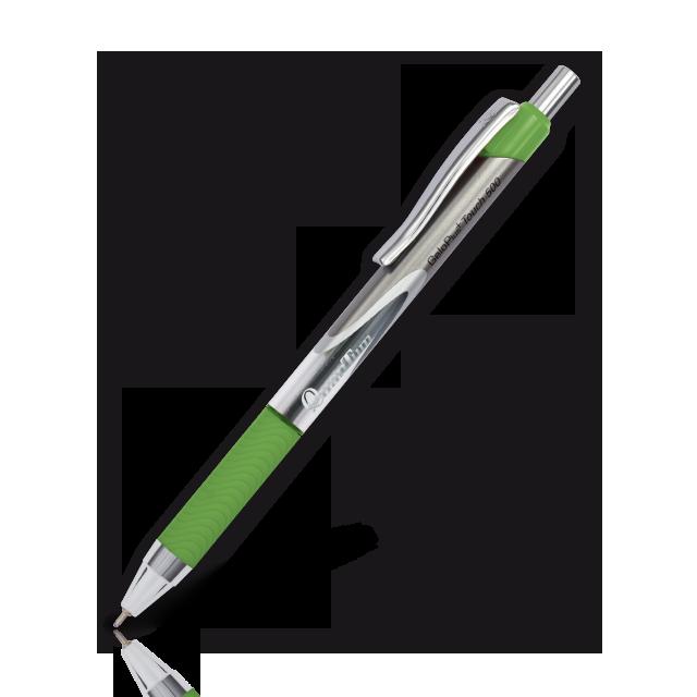 ปากกาQuantumเจลโล่พลัส ทัช 500 น้ำเงิน