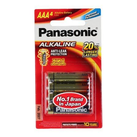 ถ่าน Panasonic ALKALINE LR03T/4B AAA(1x4)