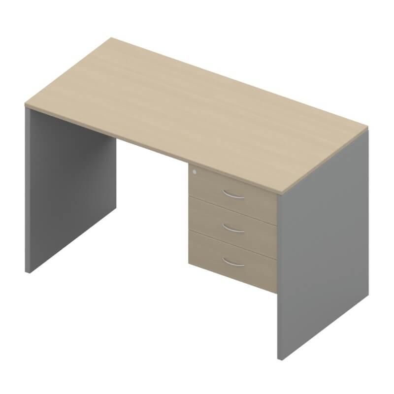 โต๊ะทำงานไม้ APEX SD1-PF-1503-80