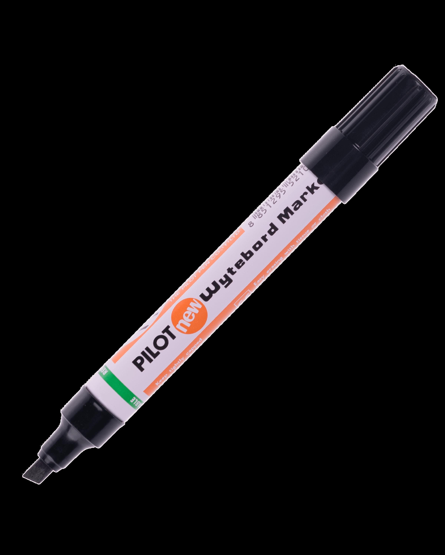 ปากกาไวท์บอร์ดหัวตัด Pilot WBMK-B สีดำ 4.5-5 มม.