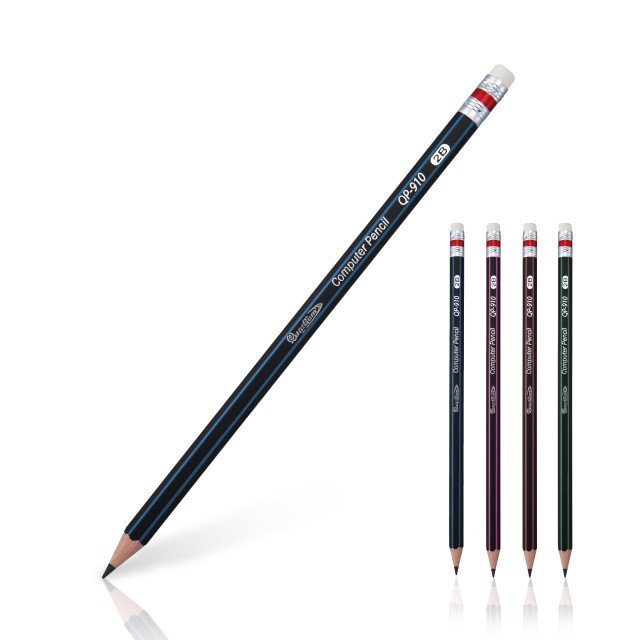ดินสอดำ2B ควอนตั้ม  QP-910