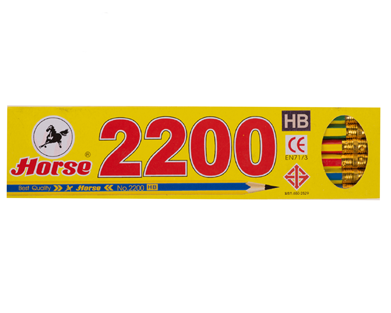 ดินสอ ตราม้า H-2200