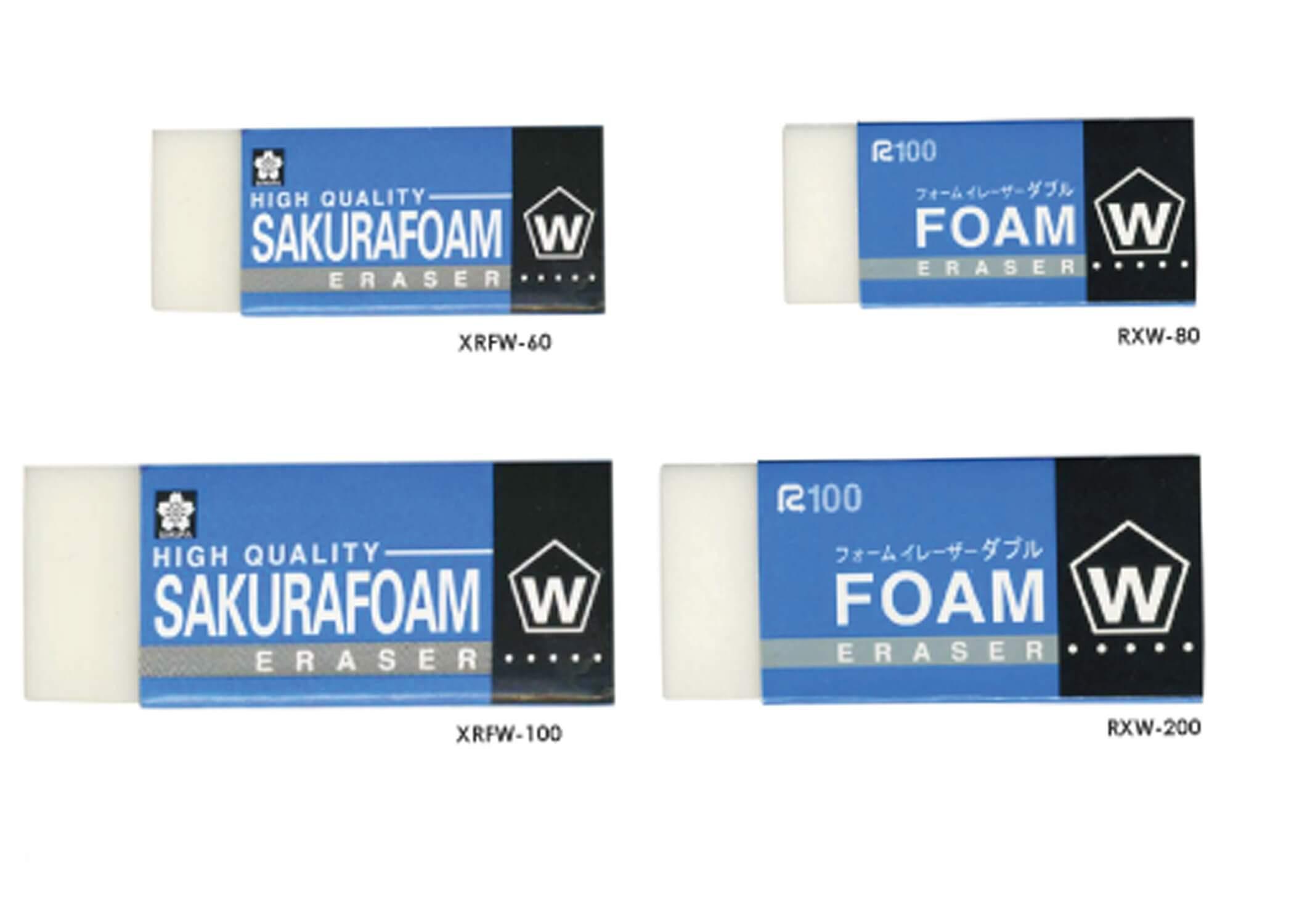 ยางลบดินสอ SAKURA XRFW-100