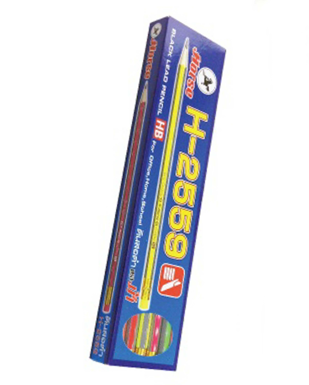 ดินสอดำ HB ตราม้า H-2509