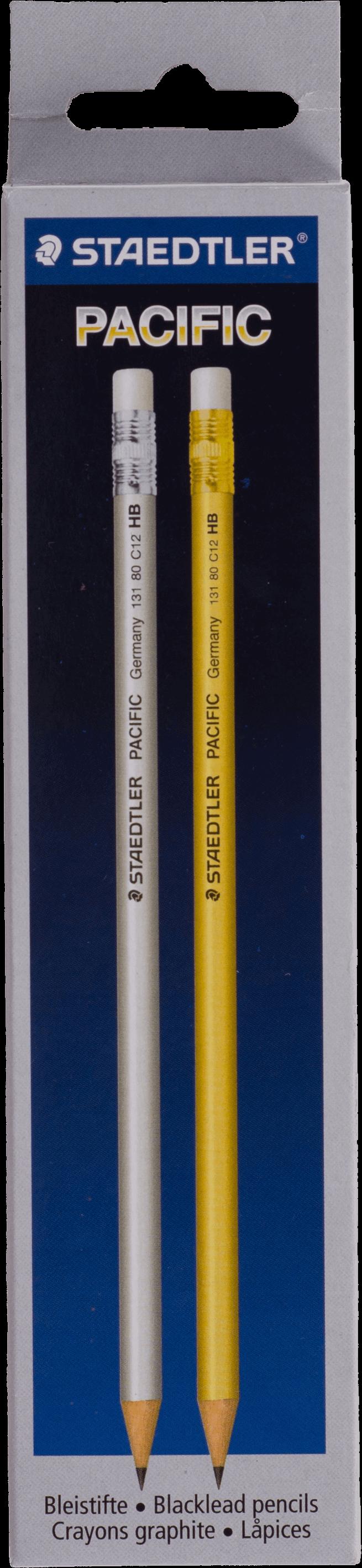 ดินสอดำ HB Staedtler Pacific #132 80