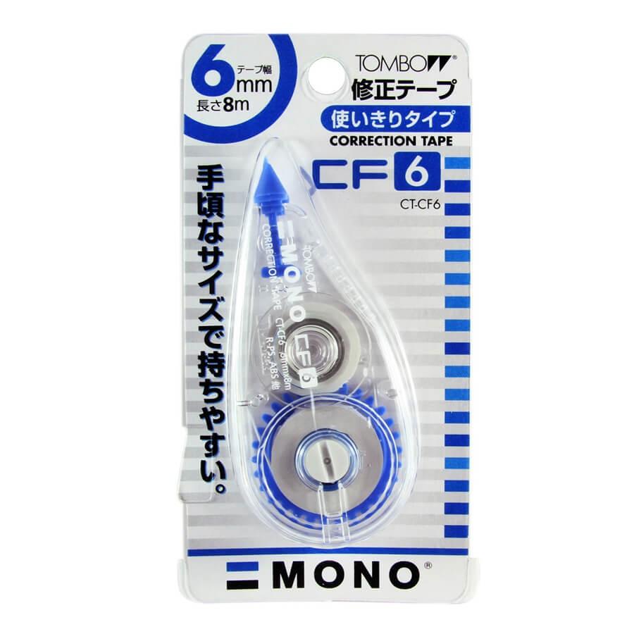 เทปลบคำผิด TOMBOW Mono CT-CF6 6 มม.x 8 ม.