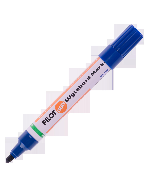 ปากกาไวท์บอร์ดหัวกลม Pilot WBMK-M สีน้ำเงิน 1.5-2 มม.