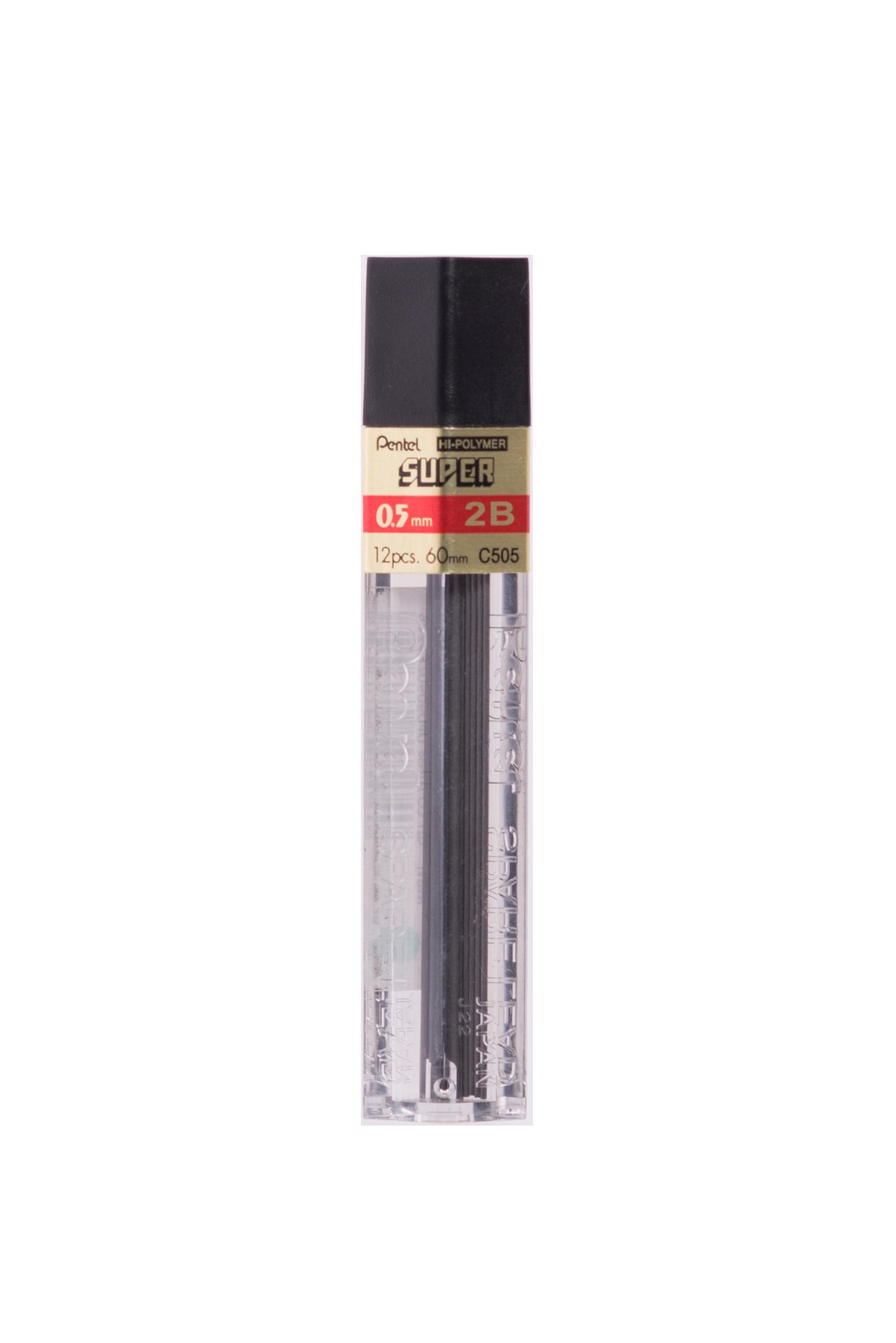 ไส้ดินสอ 2B Pentel C505 0.5 มม.