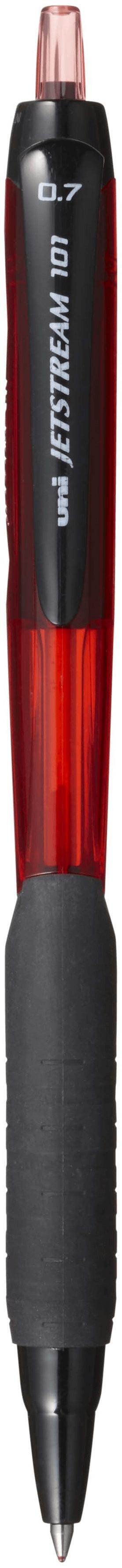ยูนิ เจ็ทสตรีม SXN-101-07 ขนาด 0.7 สีแดง