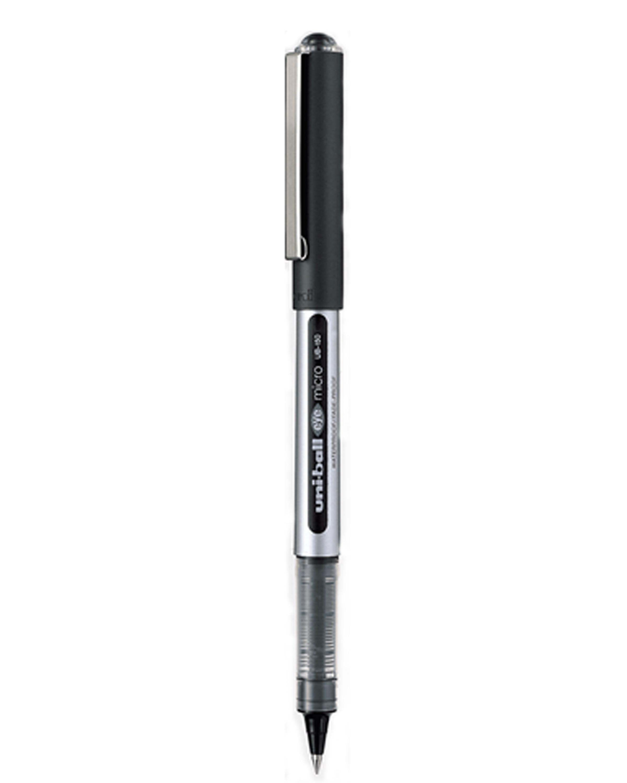 ปากกาโรลเลอร์บอล uni Eye Micro UB-150 สีดำ 0.5 มม.