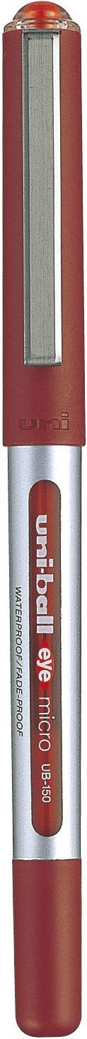ปากกาโรลเลอร์บอล uni Eye Micro UB-150 สีแดง 0.5 มม.