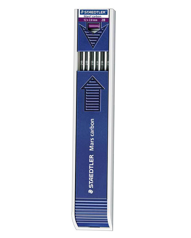 ไส้ดินสอ Staedtler 2B ขนาด 2 mm. Carbon