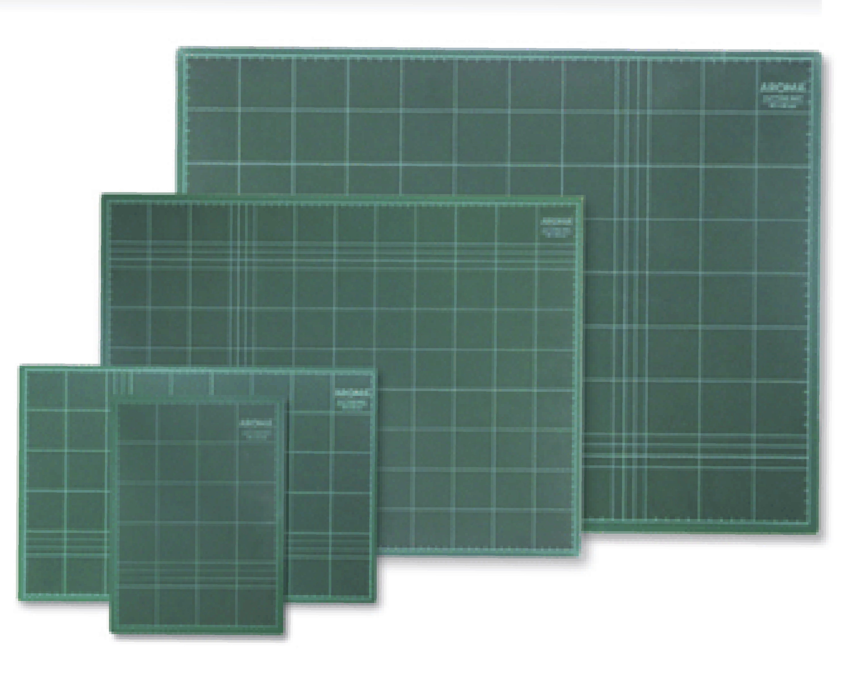 แผ่นยางรองตัด AROMA  ขนาด 22x30 ซม.(A4)
