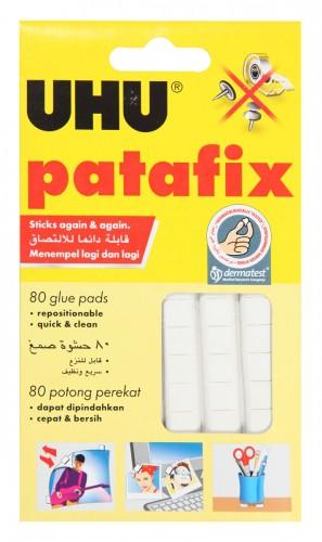กาวดินน้ำมัน UHU Tac Patafix Glue สีขาว (1x80)
