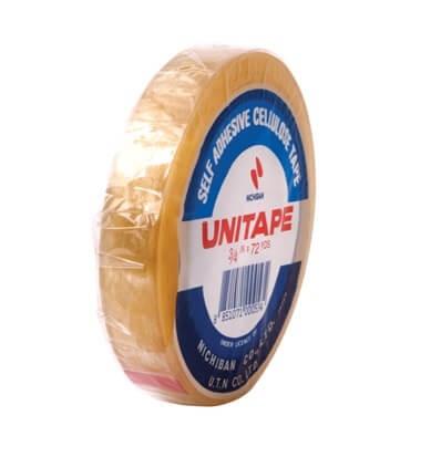 เทปใสแกน 3 นิ้ว UNITAPE 3/4 นิ้วx72 หลา