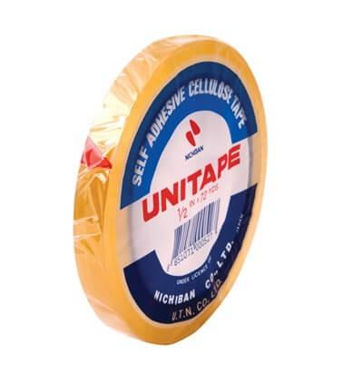 เทปใสแกน 3 นิ้ว UNITAPE 1/2 นิ้วx72 หลา