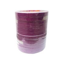 เทปตีเส้น Croco PVC สีม่วงแดง 5 มม.x9 หลา