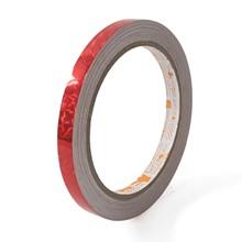 เทปตีเส้น Croco PVC สีแดง 9 มม.x9 หลา