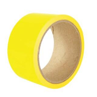 เทปตีเส้น PVC Gold Tape สีเหลือง/ดำ 2x33m