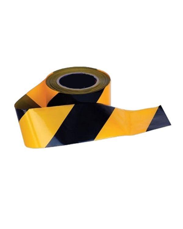 ยูโรเทป 3 นิ้ว สีเหลือง-ดำ