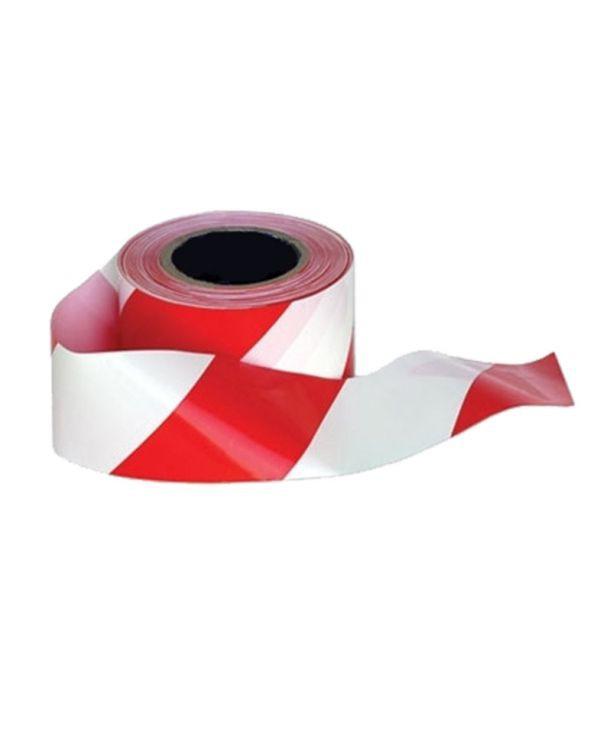 ยูโรเทป 3 นิ้ว สีขาว-แดง