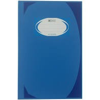 สมุดบันทึกมุมมัน ตราช้าง HC-102 สีน้ำเงิน 70 แกรม (1x100)