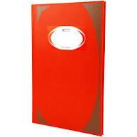 สมุดบันทึกมุมมัน ตราช้าง HC-103 สีแดง