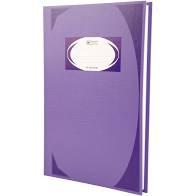 สมุดบันทึกมุมมัน ตราช้างHC-105 สีม่วง 70 แกรม (1x100)
