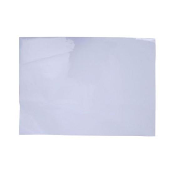 สติ๊กเกอร์ PVC สีขาว (53x70 ซม.)