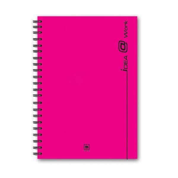 สมุดโน้ตสันลวด ตราช้าง WP-103 A5 70แกรม คละสี (150แผ่น)