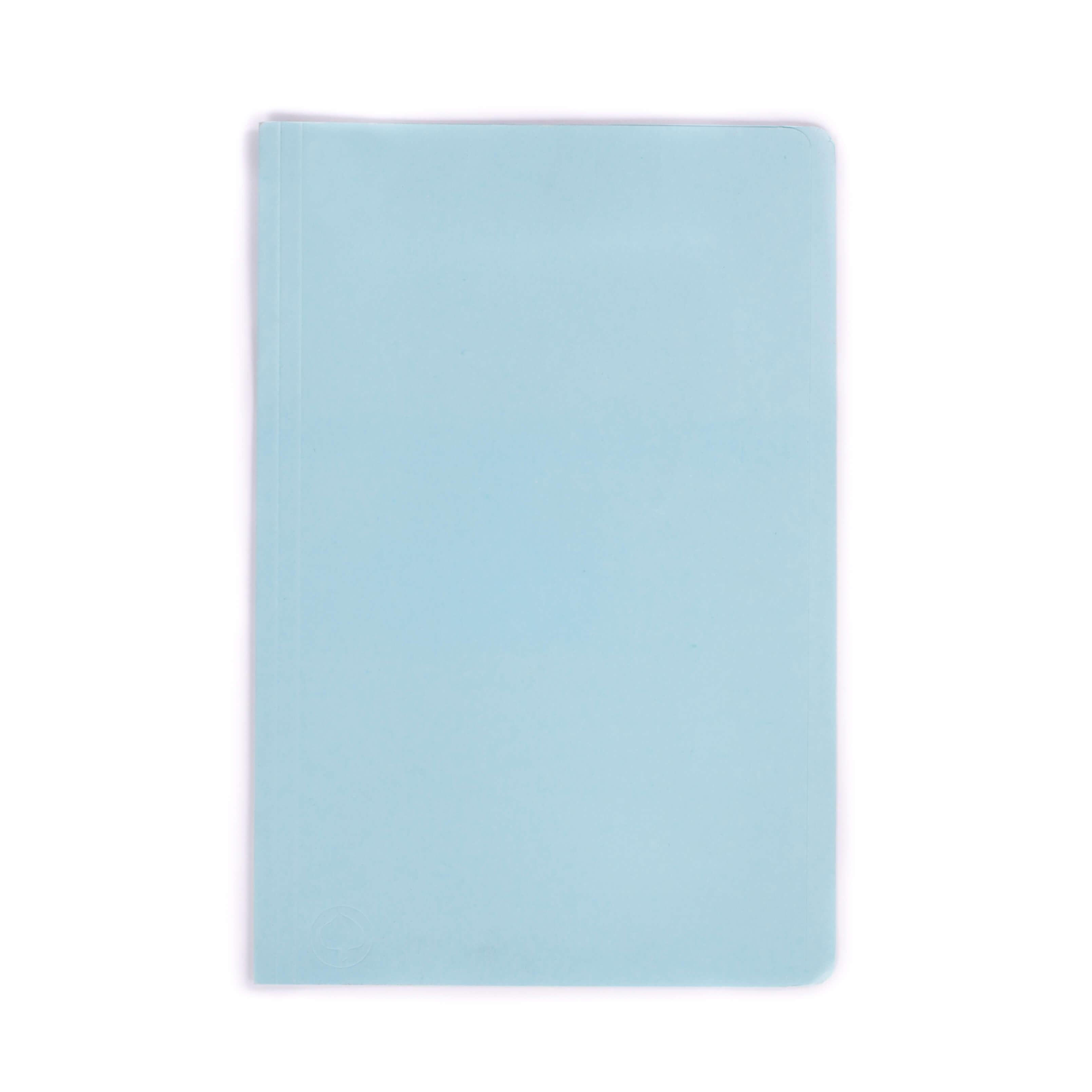 แฟ้มพับกระดาษ ตราใบโพธิ์ สีฟ้า F4