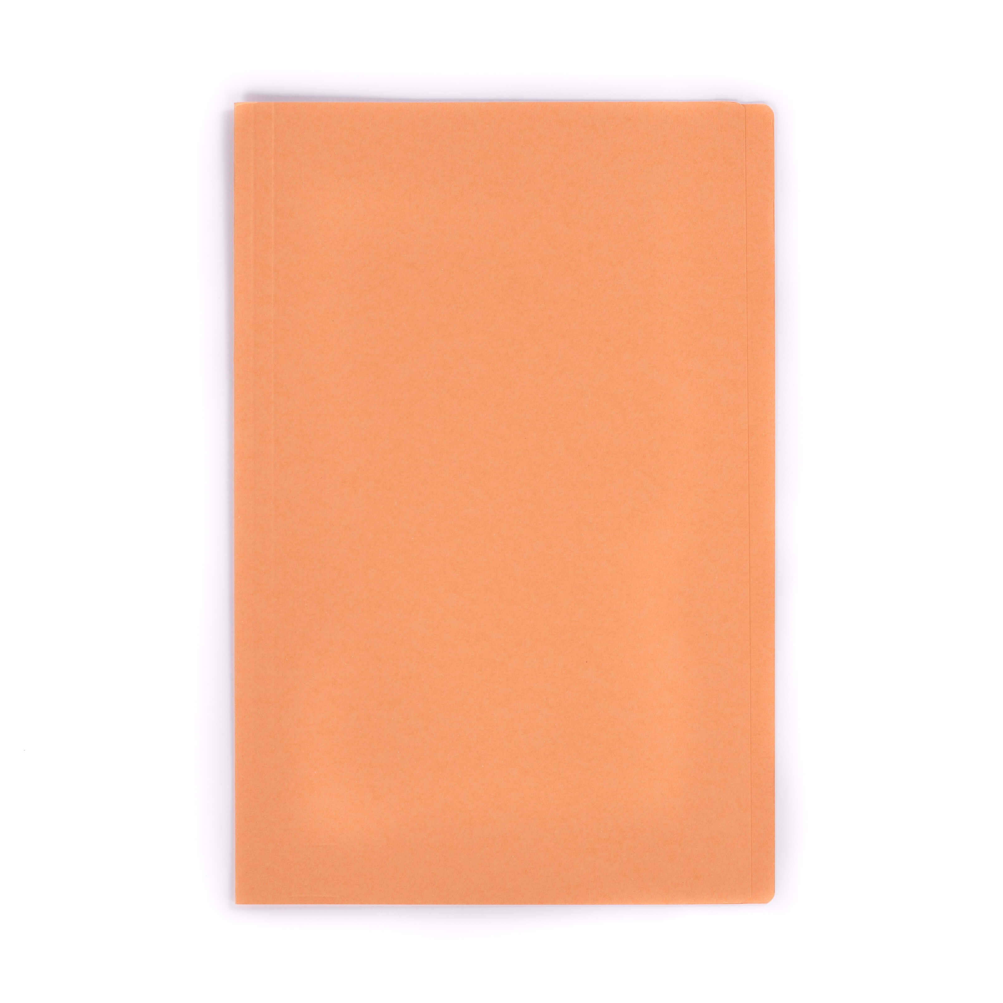 แฟ้มพับกระดาษ ตราใบโพธิ์ สีส้ม F4