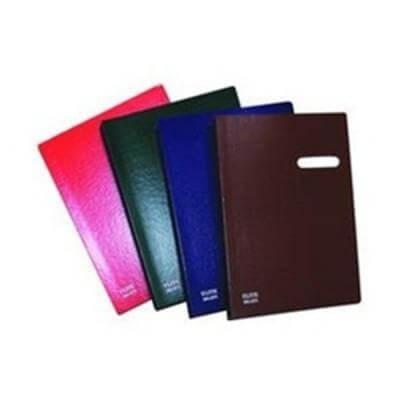 สมุดเสนอเซ็น ELITE 571 สีแดง