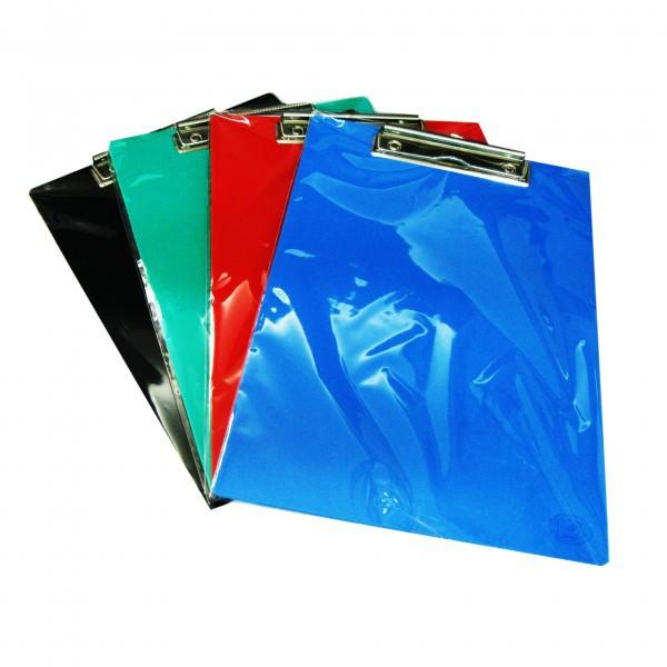 คลิปบอร์ดพลาสติก PK คละสี A4