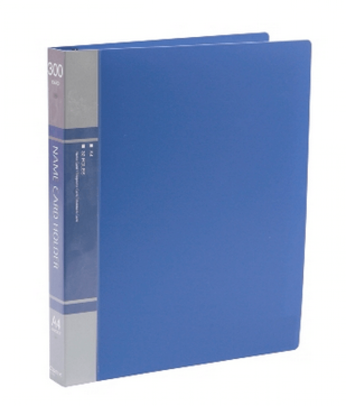แฟ้มนามบัตร COMIX SC300 300ชื่อ สีน้ำเงิน
