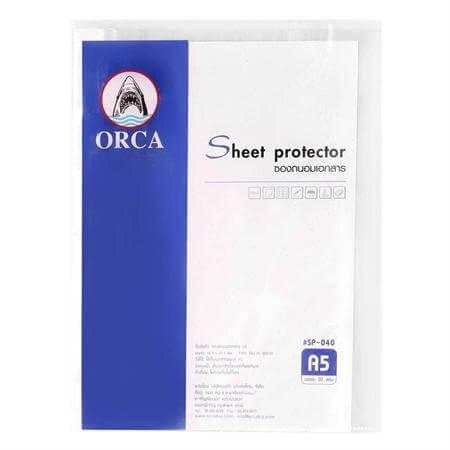 ซองถนอมเอกสาร Orca A5 (1x20) SP-040