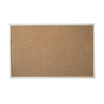 กระดานไวท์บอร์ดไม้ก๊อก 40x60 cm.