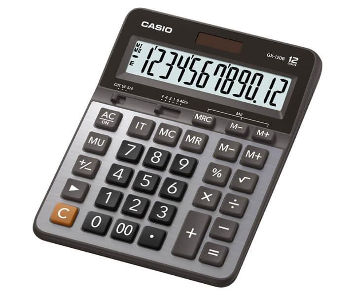 เครื่องคิดเลข Casio GX-120B 12 หลัก