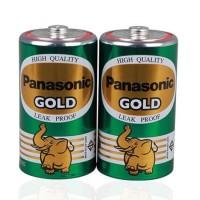 ถ่าน Panasonic R20GT/2SL สีเขียว-ทอง D (1x2)