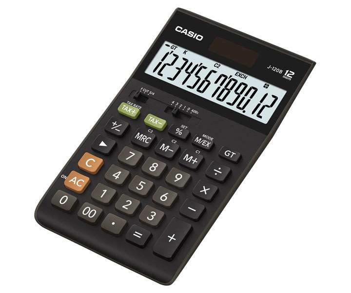 เครื่องคิดเลข Casio J-120B 12 หลัก