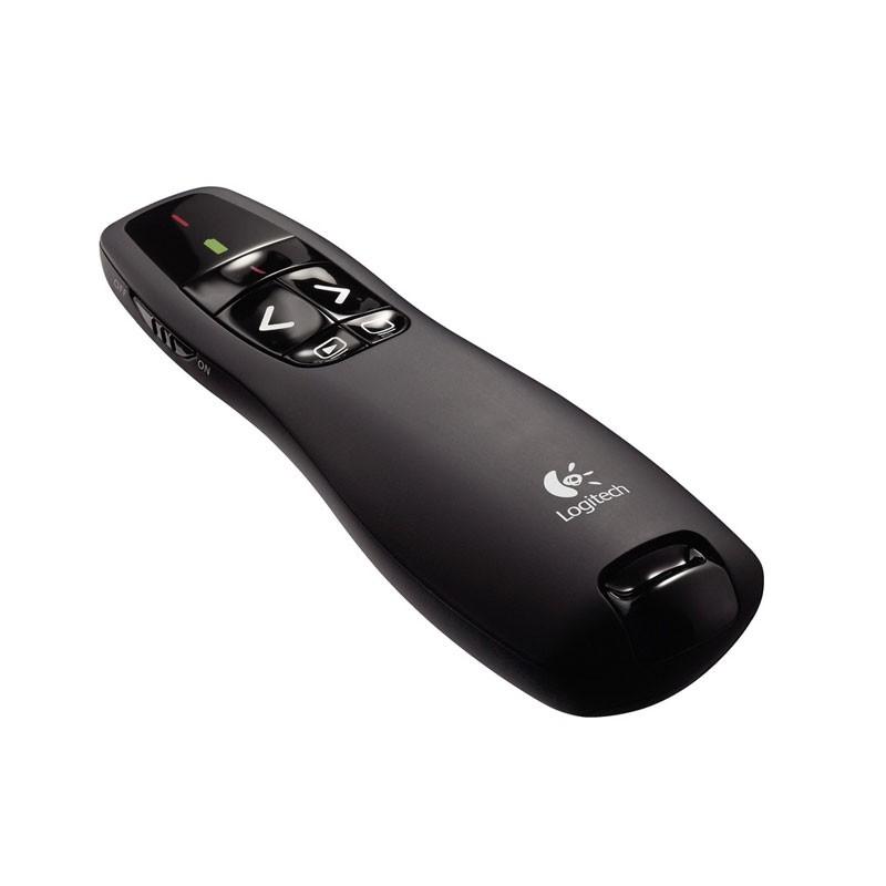 เลเซอร์พอยเตอร์ Logitech Wireless Presenter R-400