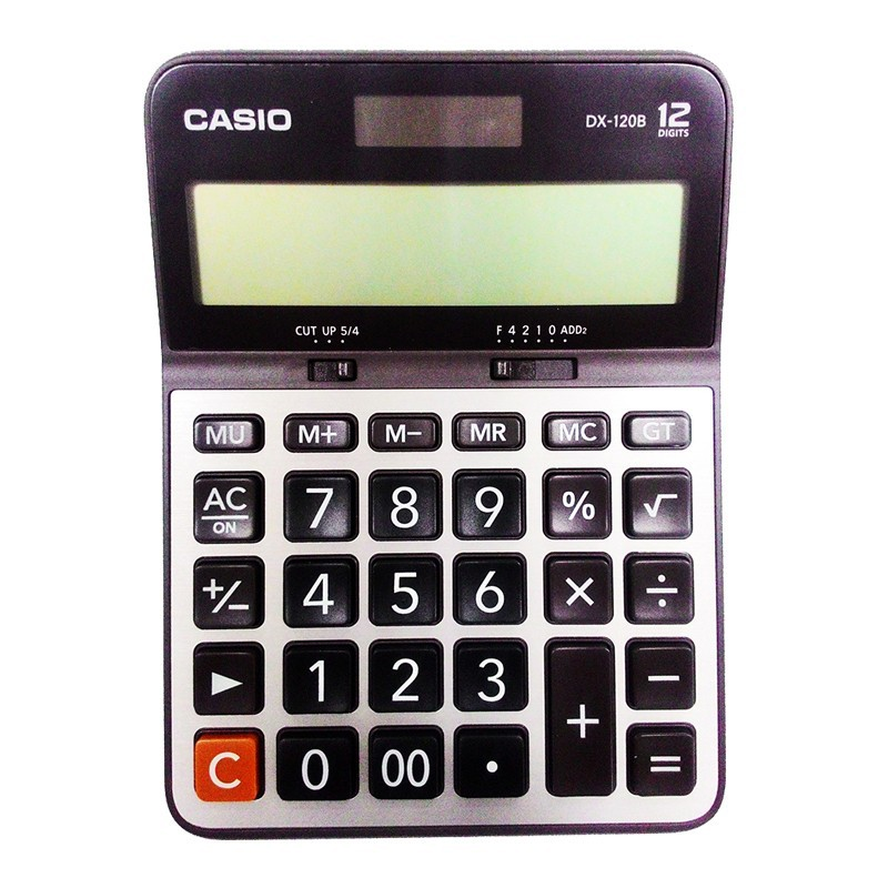 เครื่องคิดเลข Casio DX-120B 12 หลัก