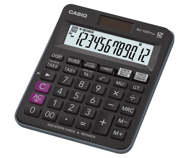 เครื่องคิดเลข Casio MJ-120D PLUS