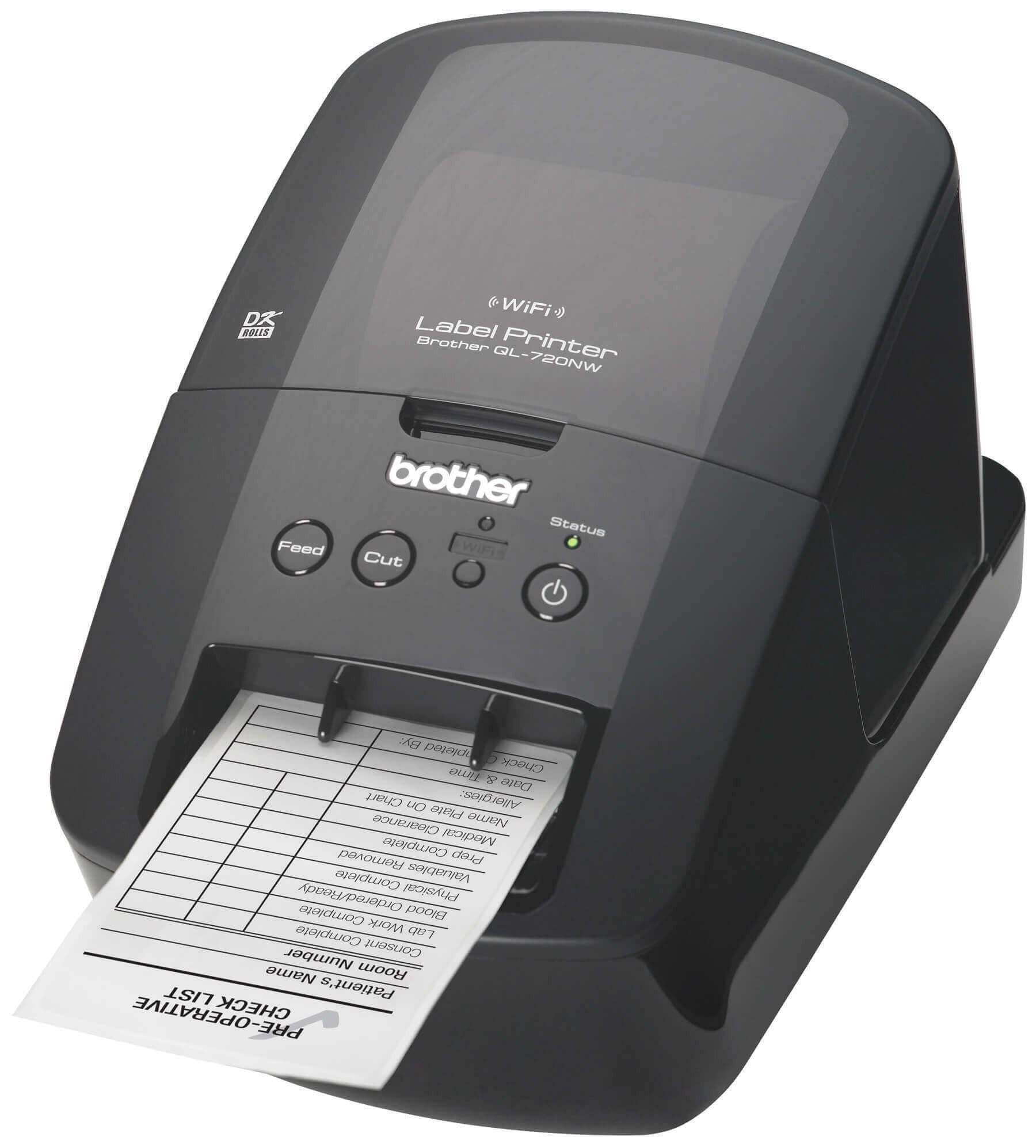 เครื่องพิมพ์ฉลาก Brother QL-720NW