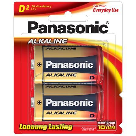 ถ่าน Panasonic ALKALINE LR20T/2B Size D (1x2)