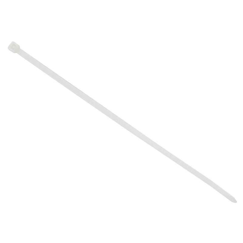 """เคเบิ้ลรัดสายไฟ Bandex 8"""" สีขาว (1x100)"""