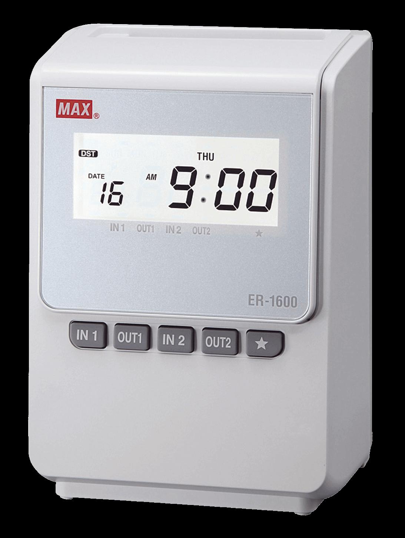 เครื่องตอกบัตร MAX ER-1600C