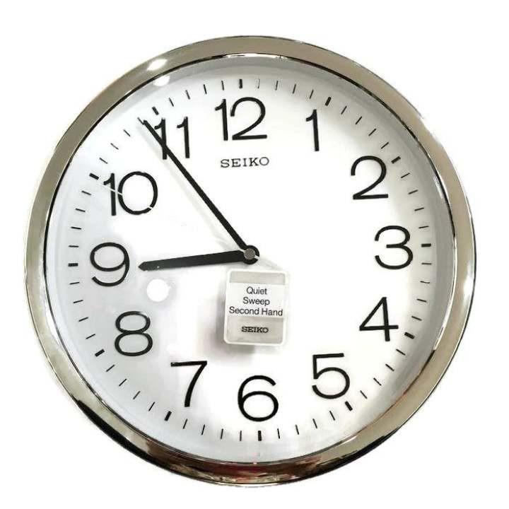 นาฬิกาแขวนผนัง Seiko ขนาด 12 นิ้ว