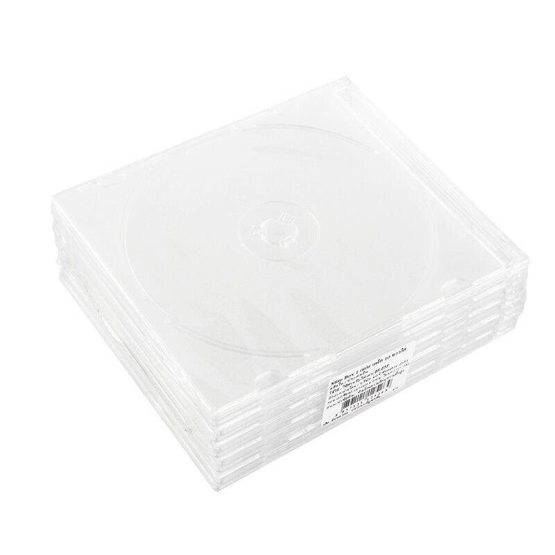 กล่องใส่ CD-BOX สลิมขาวขุ่น
